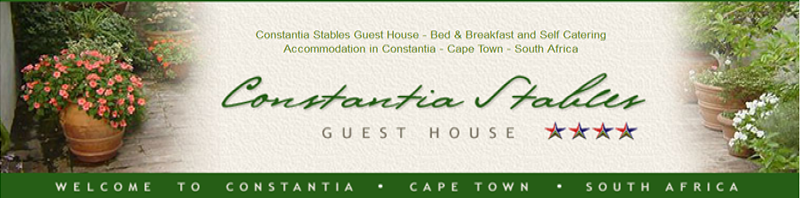 Constantia Stables Guest House Banner
